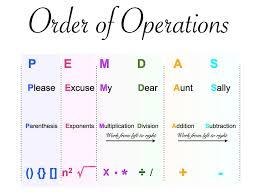 order of solving mathematical equations tessshlo
