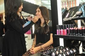 getting makeup done at sephora photo 1