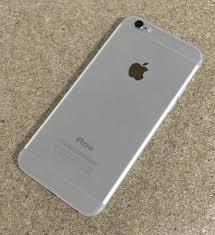 apple iphone 6 silver. apple-iphone-6-16-gb-silver-unlocked-grade- apple iphone 6 silver