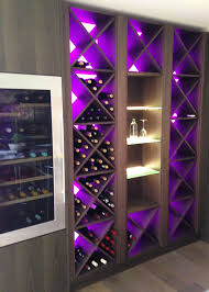 wine rack lighting. rgb wine rack lighting