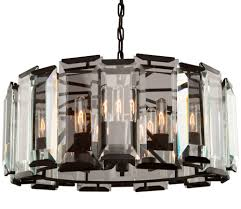 nice modern black chandelier 4 artcraft ac10269 palisades matte lighting 6
