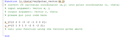 How To Call Out Of Work Stunning Solved Matlab Work Out The Xy48polarvectorm You Can Do