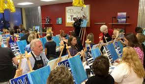 painting with a twist is now open in the harbison area photo by sandy