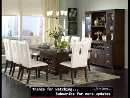 Modern dining room tables Flanigan Furniture Dining Room Furniture Modern Modern Dining Table Collection Romance Youtube Dining Room Furniture Modern Modern Dining Table Collection