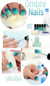 Nail Tutorials: Make Nail Arts with Sponge - Pretty Designs