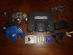 N64 Price Chart Nintendo 64 System Video Game Console B00002dhev