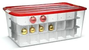 Container Store Ornament Storage Beauteous Christmas Ornament Containers Storage Organization Ideas Christmas