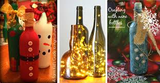 Cute Idea For Wine Bottles U2026  Pinteresu2026Wine Bottle Christmas Crafts