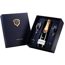 bollinger set with 2 gles