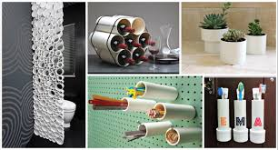 There are many creative ideas for projects that use PVC pipes and here we  have 17