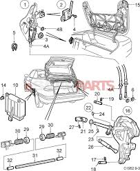 5184403 saab microswitch genuine saab parts from esaabparts rh esaabparts saab oem parts diagram