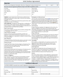 You can opt for the customizable form to download and craft. 19 Free Joint Venture Agreement Templates Ms Office Documents
