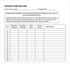 Printable Daily Log Sheets Templates. Printable. Free Printable ...