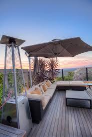 pyramid fire sense gas heater at deck patio 021 5562413