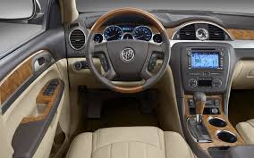 2013 Buick Enclave Interior Teased Ahead of New York Show
