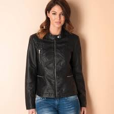 womens wilma faux leather jacket