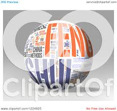 collage feng shui. Clipart Of A 3d Feng Shui Word Collage Sphere On Gray - Royalty Free Illustration By MacX U