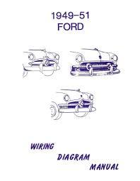 american motorabilia ford 1949 1950 1951 car wiring diagram manual