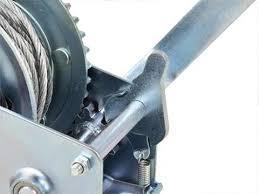 Wciągarka linowa pozioma 450kg x10m linki (korba)   Sklep ...