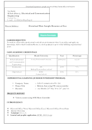 Download Word Resume Template Word Format Resume Free Download Best ...