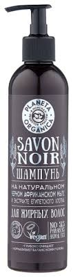 <b>Planeta</b> Organica <b>шампунь</b> Savon Noir для жирных <b>волос</b> ...