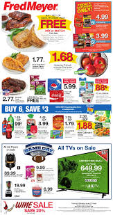 the new fred meyer ad starts today wednesday january 23rd and runs through tuesday january 29th as always make sure to check out fred meyer s e s