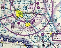 Brownsville Sectional Chart Abandoned Little Known Airfields Southern Texas