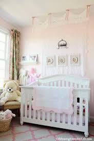A Little Girlu0027s Pink u0026 Green Bedroom