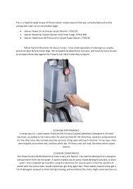 Customer Reviews Of Carpet Cleaner Machine