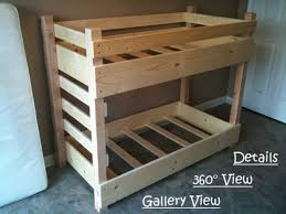 Small Crib Size Toddler Bunk Bed Plans Bunk Beds