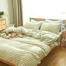 white jersey knit duvet cover cotton light green and beige striped duvet cover set throughout knit inspirations bedrooms ideas 2019