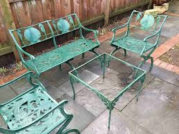 wrought iron vintage patio furniture. Round Wrought Iron Patio Tables Fresh A Guide To Buying Vintage Furniture I