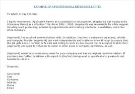 Professional References Letter Job Search Reference List Format Resume References Template
