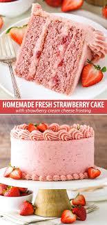 Homemade Strawberry Cake Recipe Ultimate Strawberry Lovers
