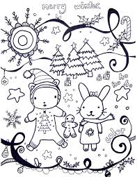 Small Picture Printable Winter Coloring Pages Marcia Beckett