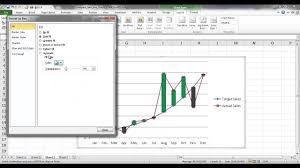Excel Chart High Low Average Compare Two Line Charts With High Low Lines Or Up Down Bars
