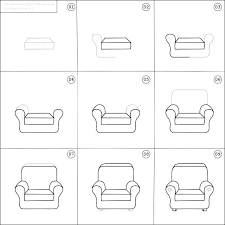 chair drawing easy. How To Draw A Chair Together With Learn Drawing Easy