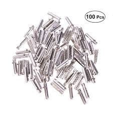 <b>100PCS Fashionable</b> Shoelace Tip Heads DIY Bullet Shaped Shoe ...