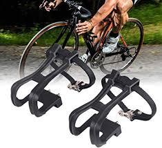LIOOBO 1 Pair of Durable <b>Creative</b> Nylon <b>Cycling</b> Black Clip Strap ...