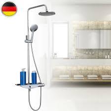 Duscharmatur Duschsystem Brausearmatur Regendusche Duschkopf