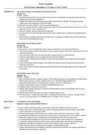 Small Business Specialist Sample Resume Business Sales Resume Samples Velvet Jobs 24