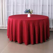 polyester tablecloths whole wedding round table overlays