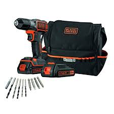 Black Decker Asd18bsa Qw Self Service Drill With 10 Accessories 18
