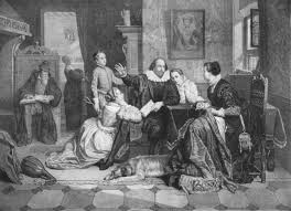 did shakespeare play the ghost maple danish paternalistic shakespeare reads hamlet to his family in a 19th century engraving that