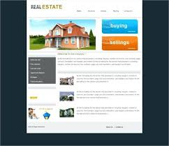 Real Estate Website Templates Enchanting Real Estate Website Template Broker Templates Agent WordPress