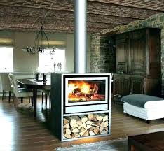 double sided gas fireplace indoor outdoor fireplace drawing easy