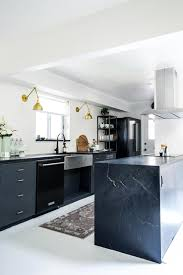 cabinet ideas for kitchen. To Achieve A Sleek And Modern Look, Mix Shades Of Black Gray Throughout The Kitchen. Cabinet Ideas For Kitchen