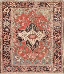 antique heriz serpi persian rug