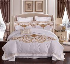 hotel bed linen suppliers luxury luxury 100s egyptian cotton queen king size royal bedding sets of