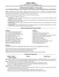 Sample Resume For Experienced Network Engineer Free Resume
